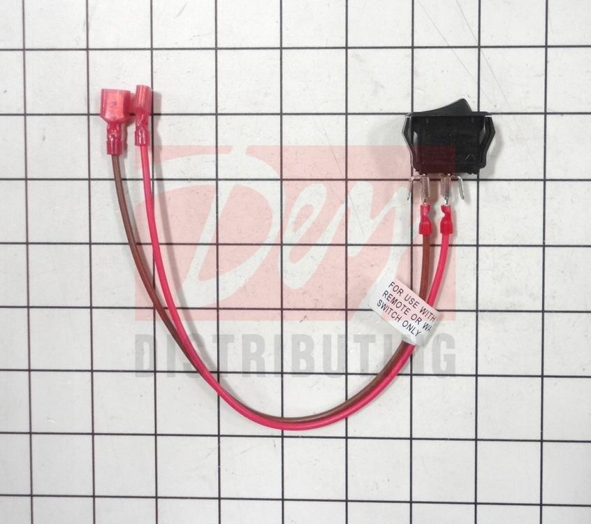 060-521A HHT Gas Fireplace On//Off Rocker Switch