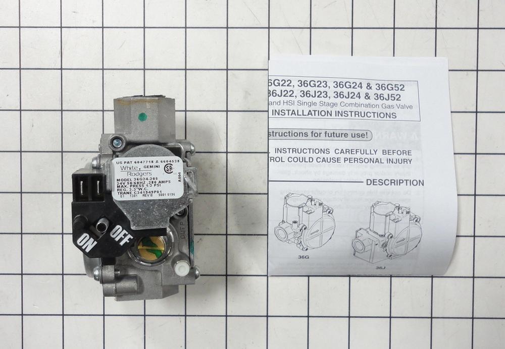 VAL09029 - Trane Furnace Gas Valve Assembly   Dey Appliance